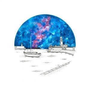 Dun Laoghaire Pier Painting