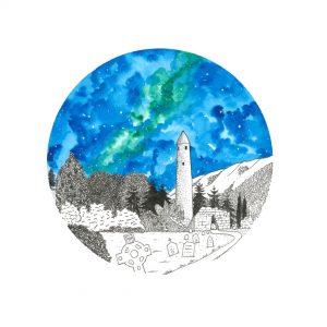 Glendalough Painting