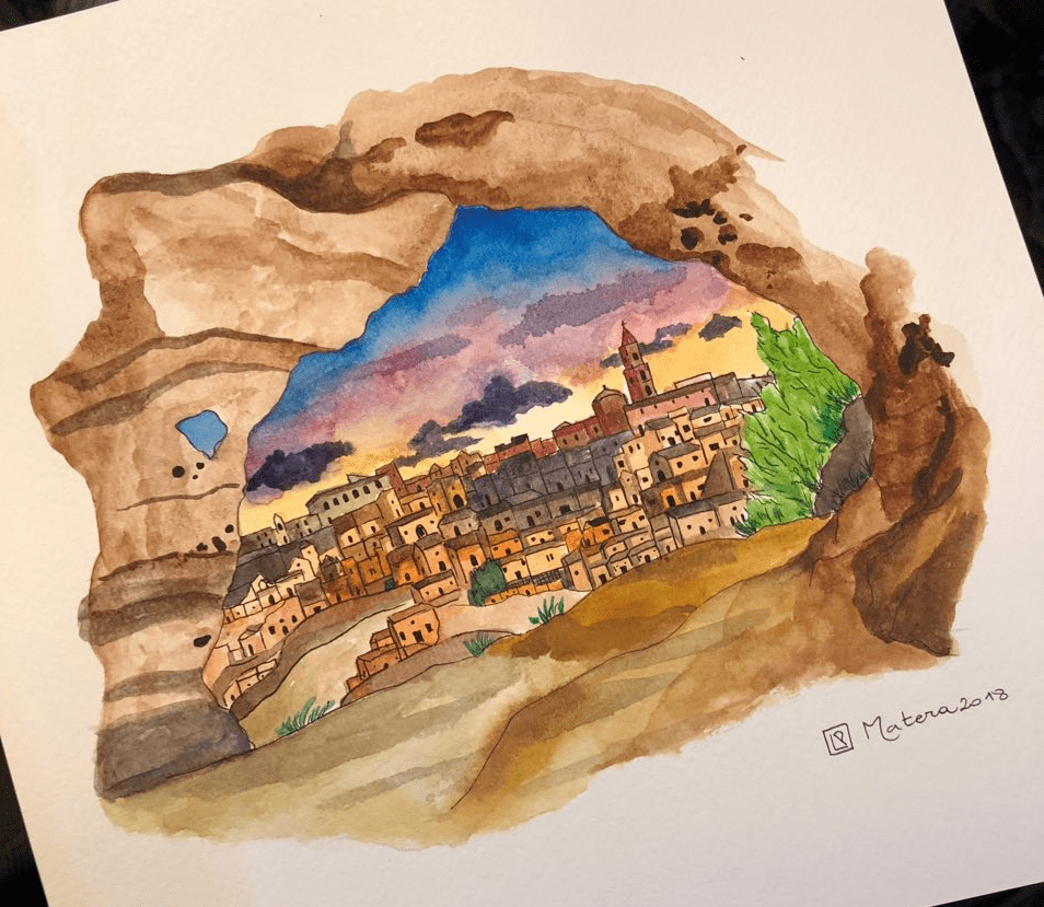 Matera Watercolor