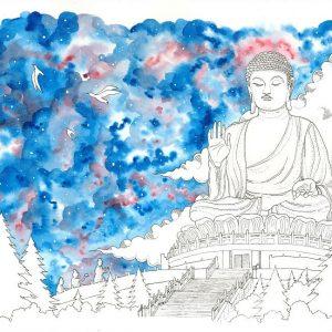 Big Buddha Wall Art Preview