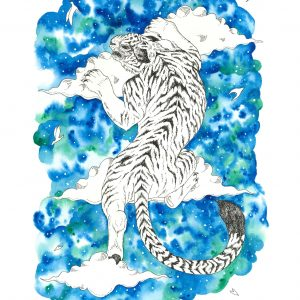 Chinese Tiger Art