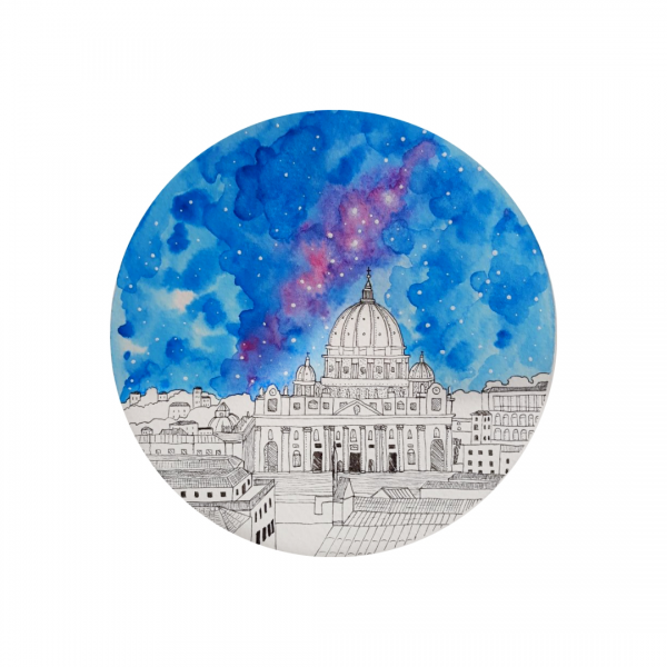St Peter's Basilica Painting