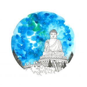Big Buddha Painting