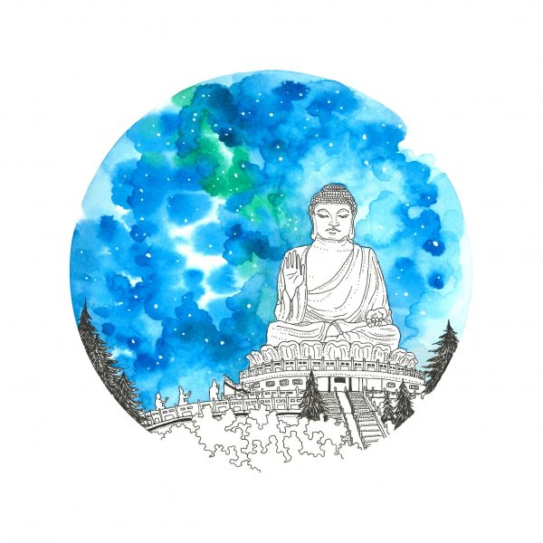 Big Buddha Painting