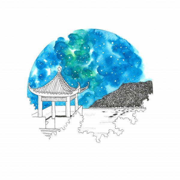 Lamma Island artwork